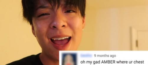f(x) member Amber Liu schooled her naysayers in a sarcastic youtube video. source: Amber Liu/youtube