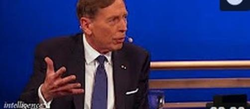 Gen. Petraeus: Citizens have the 'right' to 'criticize' the military [Image Source: IntelligenceSquared Debates/YouTube]