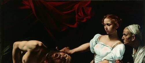 Giuditta che taglia la testa a Oloferne, 1602 Roma, Gallerie Nazionali Barberini Corsini Foto di Mauro Coen