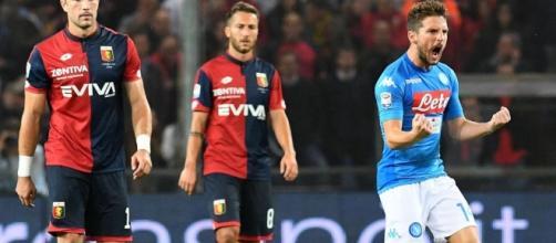 Il Napoli ringrazia Mertens e torna in vetta - eurosport.com