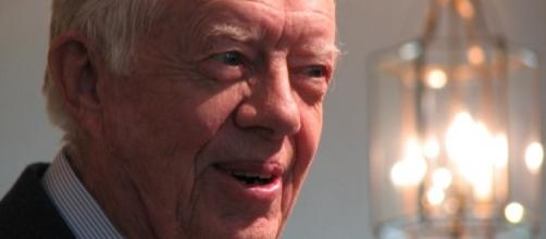 Jimmy Carter ready to diffuse the tension with North Korea [Image Credit: Grace/Flickr]