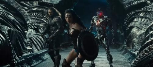 'Justice League' superheroes in teaser scenes, Image Credit: OCarroll / YouTube