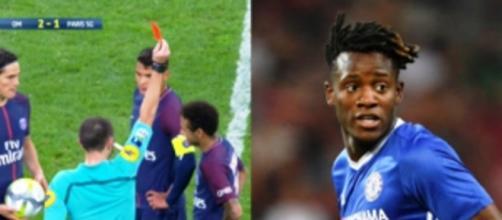 L'énorme réaction de Michy Batshuayi sur Twitter après l'expulsion de Neymar !
