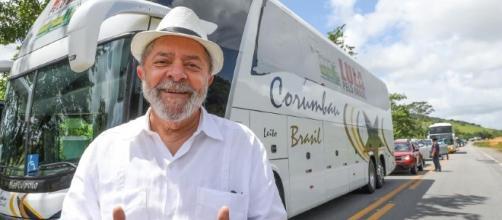 Lula inicia sua caravana pelo estado de Minas Gerais