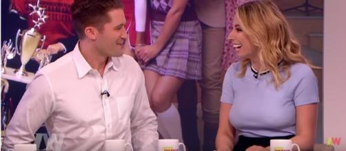 Matthew Morrison and wife welcomed first son. (Image Credit: LooseWomen/YouTube)