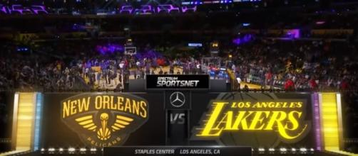 New Orleans Pelicans vs LA Lakers on Sunday, October 22 at Staples Center [Image Credit: Ximo Pierto Official/YouTube]