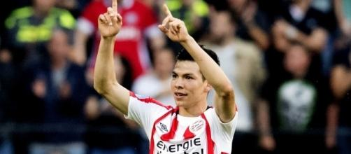 Lozano, 22, one of the hottest strikers in Europe ... - sport360.com