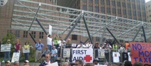 Tea Party Rally Houston Texas 2010. [Image Credit: Mark R. Whittington]