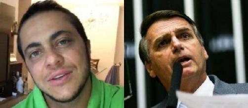 Thammy se filiou ao Partido Progressista em 2015, o mesmo de Bolsonaro, e foi criticado pelo filho dele, Eduardo Bolsonaro