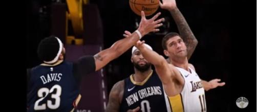 The Lakers were defeated by the Pelicans.[Image credit:Scouts Honor/YouTube]