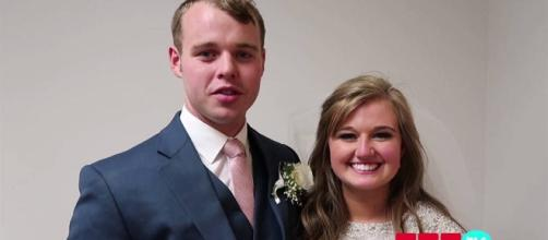 There was a power shutdown during Joseph Duggar and Kendra Caldwell's wedding. [Image Credit: TLC/YouTube]