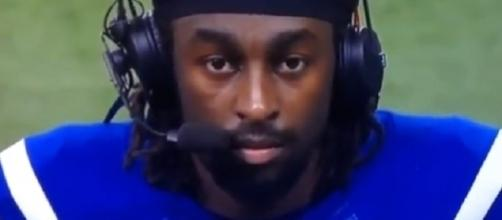 T.Y. Hilton apologized to the offensive line on Monday. [Image Credit: Brett Podwoiski/YouTube]