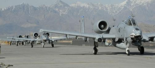 U.S. Air Force A-10 Thunderbolt II aircraft, Afghanistan (Image credit - David Dobrydney – Wikimedia Commons)