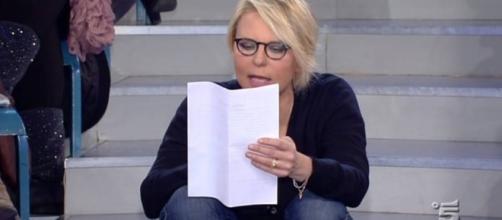 Valeria Marini a Uomini e Donne e Maria De Filippi - tvnews24.it