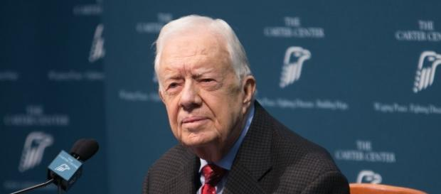Forme President Carter offers to negotiate with North Korea. Image credit: YouTube/Secular Talk.