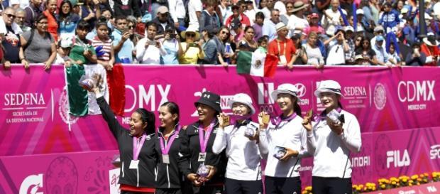 México gana medalla de plata Foto por World Archery