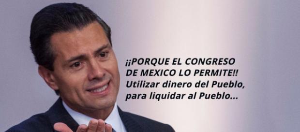 Mientras el Congreso de la Unión de México lo permita, el gobierno de Peña Nieto gastará el presupuesto en seguridad nacional sin resultados