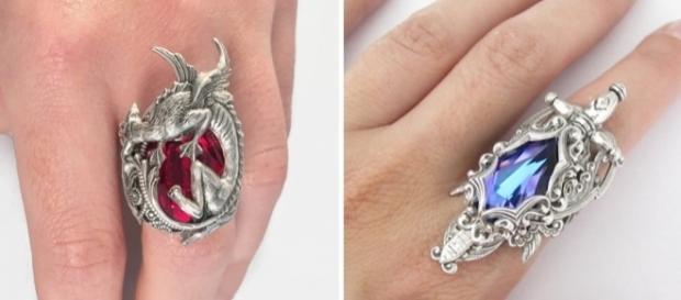 Peças artesanais inspiradas em ''Game of Thrones'' (Fotos: Reprodução/Daedra Jewelry)