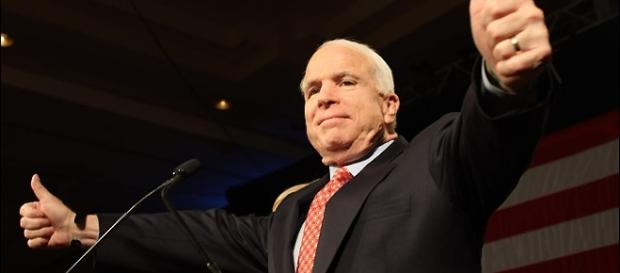 Senator McCain recently expressed his view on President Trump's divisive narrative and policies. [Credit: Pimkie/Flickr]