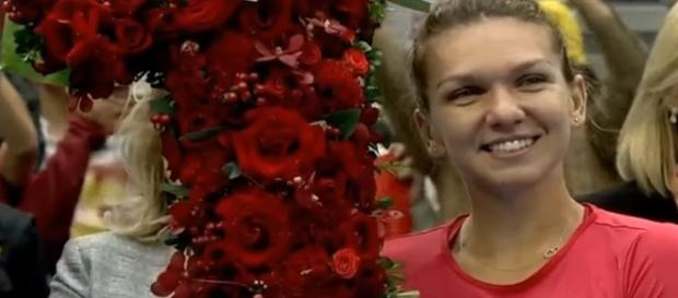 Simona Halep is the current world No. 1 in the WTA ranking/ Photo: screenshot via WTA official channel on YouTube