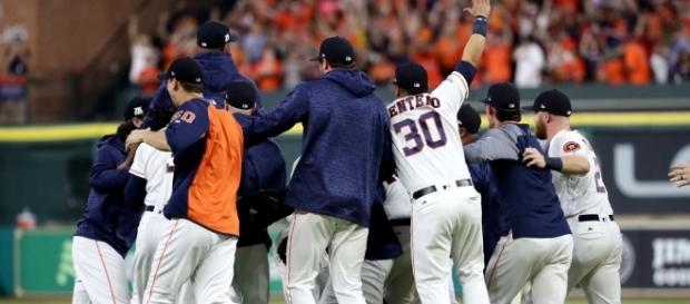 The Astros look to win their first World Series in team history. [Image via ESPN/YouTube]