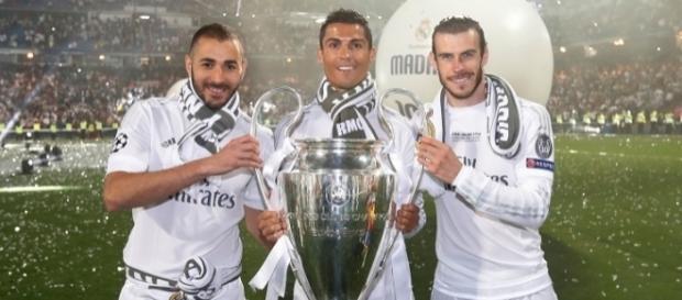 Trio BBC: Benzema, Cristiano e Bale