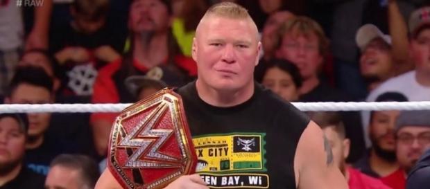 Universal Champion Brock Lesnar (Foto WWE Account ufficiale)