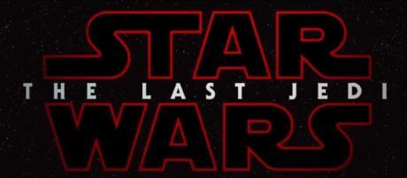 Episode 8's official title logo. (Image Credit: Star Wars/Youtube screencap)