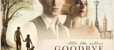 Goodbye Christopher Robin starring Domhnall gleeson, Margot Robbie and Kelly McDonald