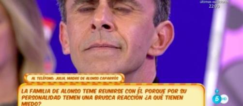 "Alonso Caparrós desquicia en directo a su madre: ""Nos estás matando"" - lecturas.com"