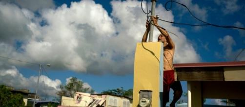 Alternative aid being looked to for Puerto Rico's power problem. Image- washingtonpost.com
