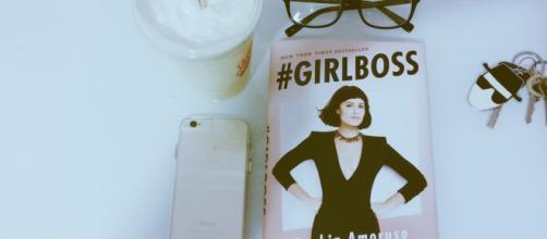 Amoruso's first book and New York Times bestseller: '#Girlboss.' Photo: Brandie Wedderburn via Flickr