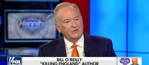 Bill O'Reilly on Fox News, via YouTube