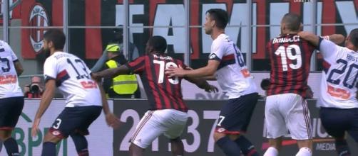 Bonucci, espulsione per una gomitata a Rosi - Corriere dello Sport - corrieredellosport.it