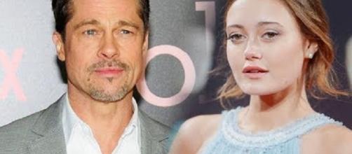 Brad Pitt, Ella Purnell - Image Credit: News 247/YouTube