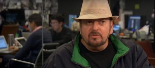 Celebrities denounce James Toback over sexual harassment allegations. (Image Credit: HuffPost Live/YouTube)