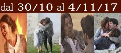 Damian muore Hernando e Beatriz incendiati