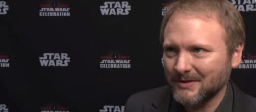 Director Rian Johnson Interview - Episode VII: The Last Jedi - Star Wars Celebration 2017 | Image Credit: HeyUGuys/YouTube screencap)
