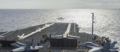 Dove sono le portaerei americane nel mondo - geopoliticalcenter.com