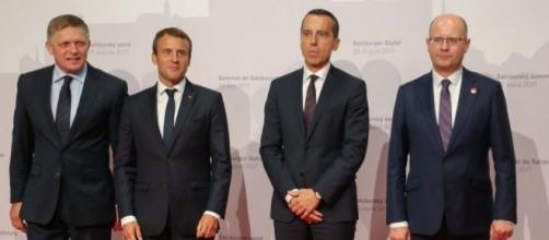 En Europe de l'Est, Emmanuel Macron trouve plusieurs soutiens sur ... - lopinion.fr