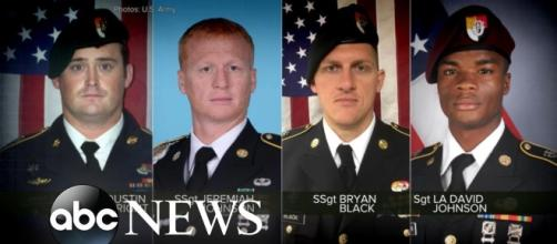 Four U.S. Army soldiers were killed by Islamic militants in attack in Niger | Image Credit: ABC News | YouTube