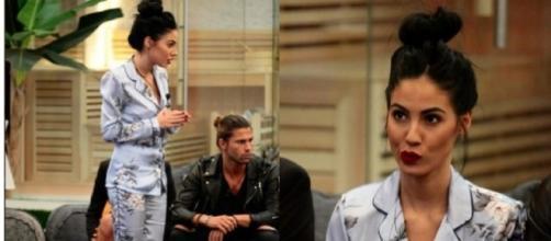 Grande Fratello VIP: Giulia De Lellis outfit 23 Ottobre   Lite Alfonso Signorini - blastingnews.com
