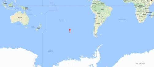 Il Punto Nemo, la sua collocazione nell'oceano Pacifico.