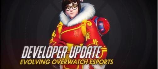 Jeff Kaplan revealed the improved features for 'Overwatch' eSports [Image Credit: PlayOverwatch/YouTube]