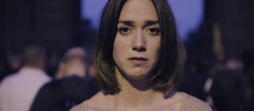La actriz Anna Maruny en el vídeo de 'Help Catalonia. Save Europe'. Fuente: Youtube.