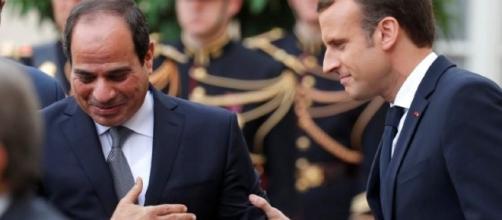 Macron e Al Sisi, prima visita ufficiale con Macron