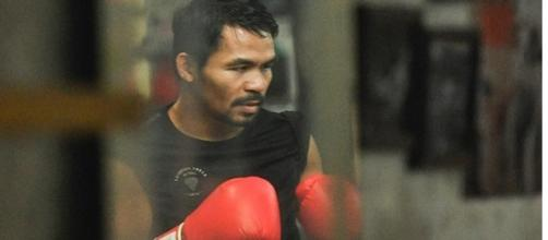 Manny Pacquiao forced into a corner with rematch set for Brisbane/ photo from @mannypacquiao/ Instagram