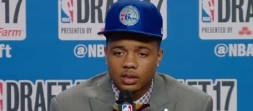 Markelle Fultz averaged 6.0 points, 2.3 rebounds and 1.8 assists in four games (Image Credit: NESN/YouTube)