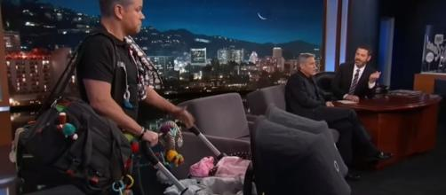 """Matt Demon takes up the role of """"Manny"""" in """"Jimmy Kimmel Live!"""" [Image Credit:Full Interview/Youtube]"""