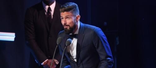 Olivier Giroud lauréat du plus beau but de l'année 2017